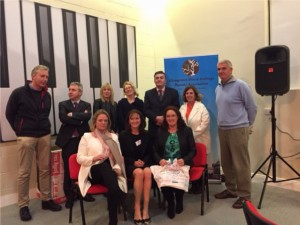 Clongowes Wood College Parents Association with Jim and Kevin from Bully 4U after a recent talk.